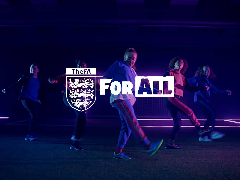 FA Footbal Assosiaction England - All Dance project, custom composition by Turreekk