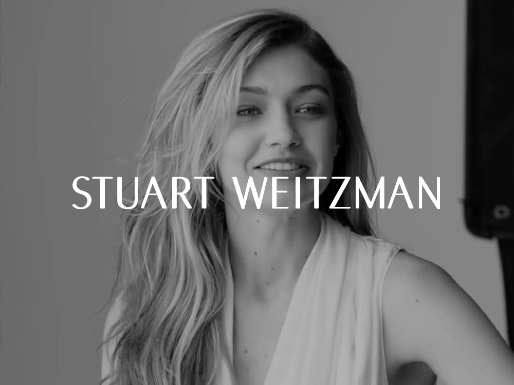Stuart Weitzman - Spring 2018 Ad Campaign Featuring Kate Moss and Gigi Hadid